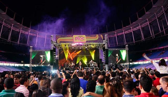 Festa Ploc foi uma das apresentações mais concorridas feitas na arena - Foto: Saulo Brandão l Divulgação