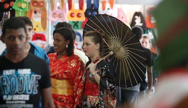 Festival de Cultura Japonesa acontece neste fim de semana em Salvadro - Foto: Raul Spinassé | Ag. A TARDE