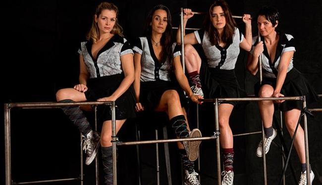 As atrizes Bianca Castanho, Karla Tenório, Fernanda Vasconcellos e Talita Castro em cena - Foto: Rodrigo Lopes l Divulgação