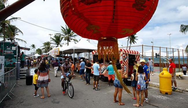 A 2ª edição do festival foi montada na praça do Sol - Foto: Fernando Vivas l Ag. A TARDE
