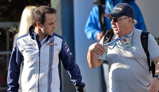 Felipe Massa fez apenas o 14º melhor tempo no treino para o GP da Bélgica - Foto: Martin Meissner | Associated Press