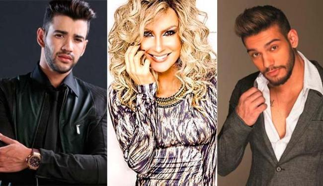 Gusttavo Lima, Claudia Leite e Lucas Lucco são alguns dos nomes que não devem aparecer em Xuxa - Foto: Divulgação