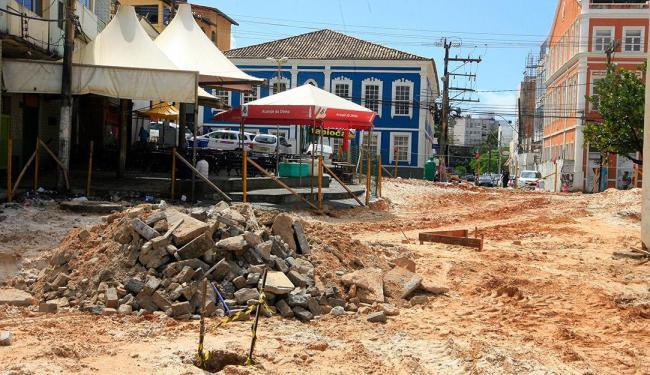 Obras de requalificação são alvo de investigação do Ministério Público - Foto: Luciano da Matta | Ag. A TARDE