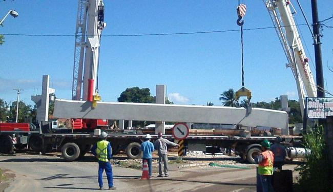 Trecho do KM 11 sofrerá quatro interdições para movimentação de guindastes - Foto: Divulgação