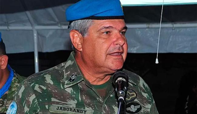 Jaborandy comandava a Missão das Nações Unidas para a Estabilização no Haiti (Minustah) - Foto: UN