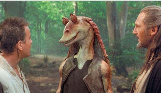 Personagem apareceu em Star Wars Episódio 1 - Ameaça Fantasma - Foto: Divulgaçao