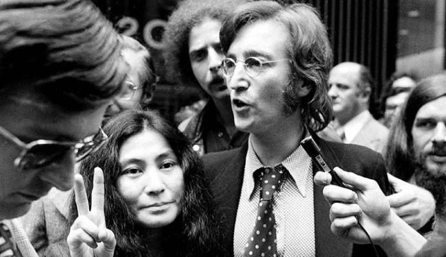 John Lennon deixou de ser rockstar para ser um ativista - Foto: AP Photo