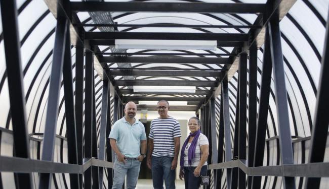 Julio, Paulo e Dalmair retomaram suas vidas após o transplante - Foto: Raul Spinassé | Ag. A TARDE | 30.07.2015