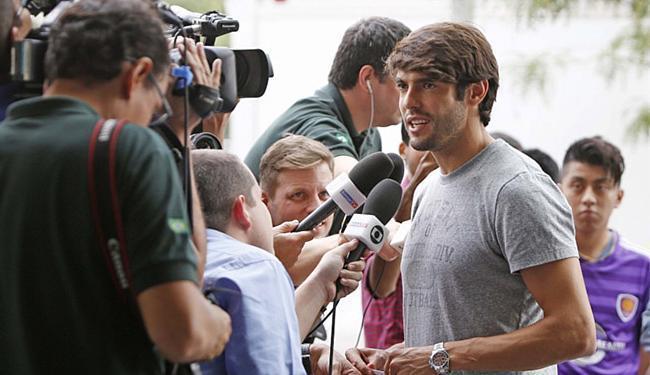 Kaká: 'Estava com muita vontade de voltar' - Foto: Rafael Ribeiro l CBF