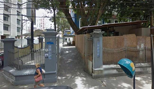 Assalto aconteceu em frente à Subway, na Rua da Graça - Foto: Google Street View