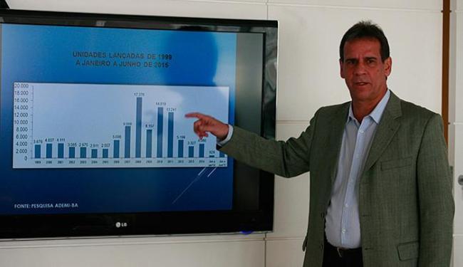 Luciano Muricy: 'Do total de vendas em 2015, o Minha Casa foi responsável por mais de 2 mil unidades - Foto: Edilson Lima l Ag. A TARDE