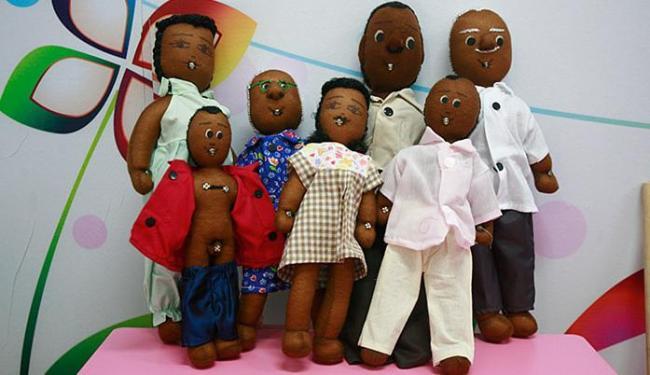 Ludoteca tem uma família de bonecos - Foto: Fernando Amorim l Ag. A TARDE