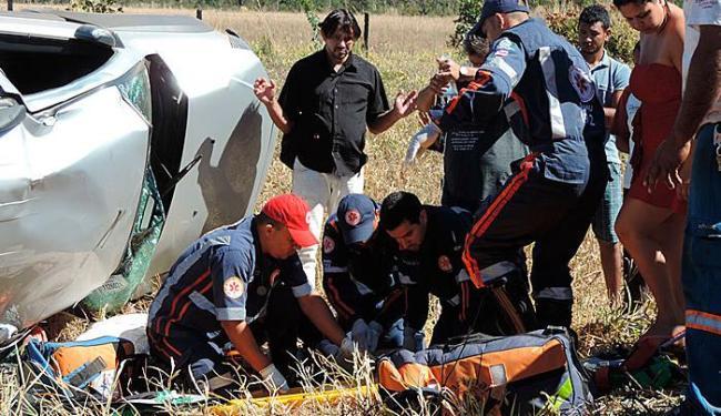 Equipe da Samu prestou socorro às vítimas - Foto: Blog do Sig Vilares   Divulgação
