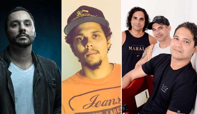 Lutte, Victor Badaró e Adão Negro estão entre as atrações do festival - Foto: Divulgação