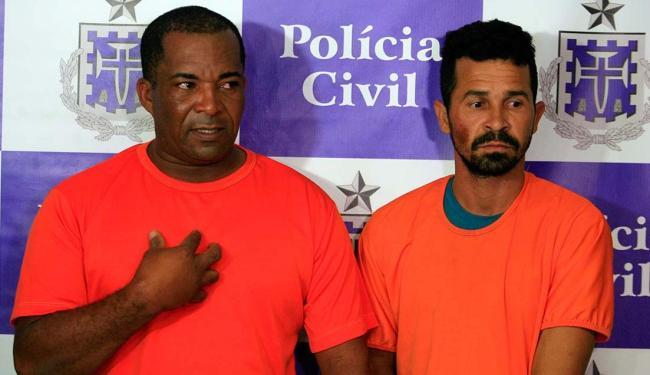 Dois suspeitos foram presos durante resgate da vítima - Foto: Edilson Lima | Ag. A TARDE
