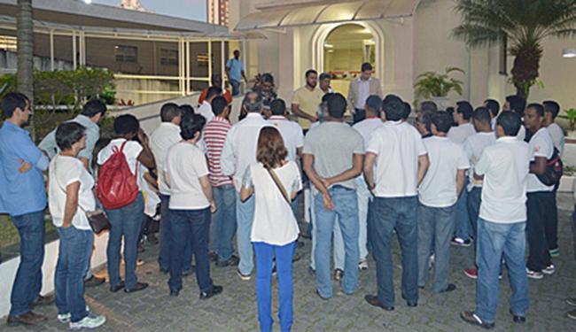 Uma mediação foi realizada na tarde da segunda-feira, 24, mas o impasse permaneceu - Foto: Divulgação | Sindiquímica