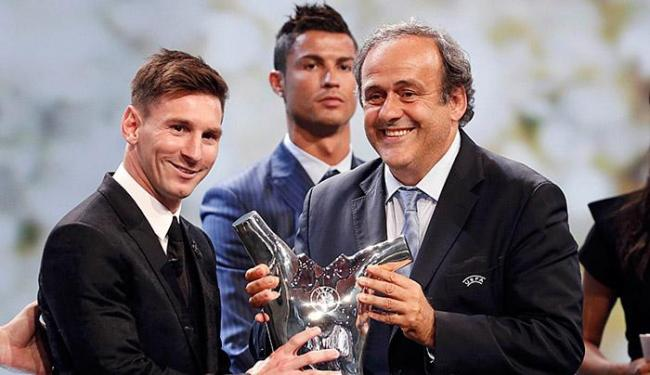 Argentino supera Cristiano Ronaldo e Suárez e torna-se também soberano na Europa - Foto: Eric Gaillard l Reuters