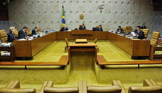 Ministros do Supremo se reúnem para decidir sobre a descriminalização do porte para uso pessoal - Foto: José Cruz l Agência Brasil