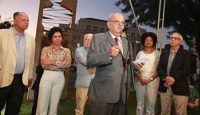 Militantes destacaram a importância do monumento - Foto: Joá Souza | Ag. A TARDE