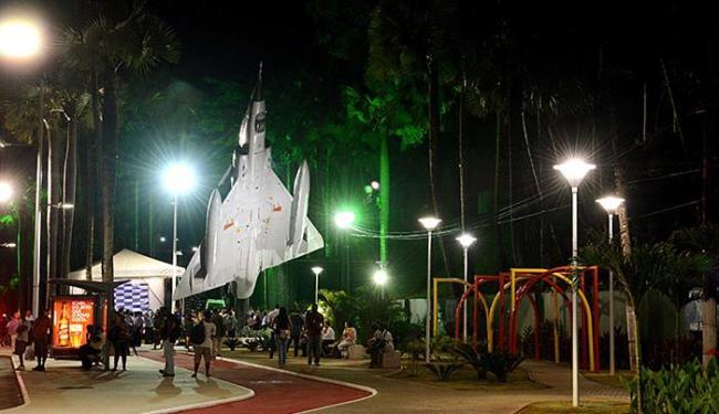 Monumento Mirage é mais uma atração turística da cidade - Foto: Valter Pontes l Divulgação l Agecom
