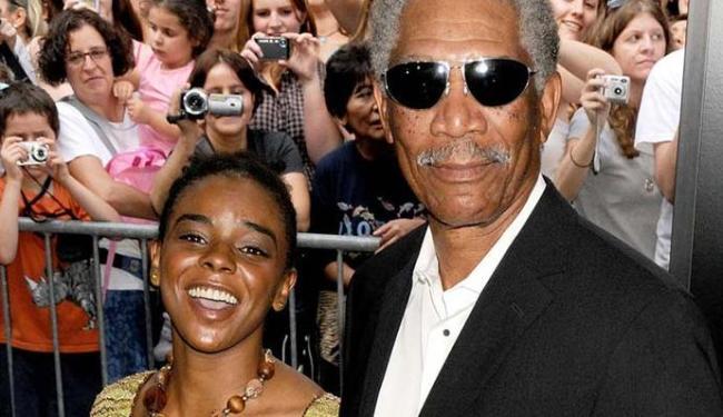 Freeman costumava levar a neta para eventos - Foto: Agência Reuters