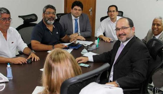 Reunião do Bahiagás foi mediada pelo Ministério Público do Trabalho - Foto: MPT Bahia | Divulgação