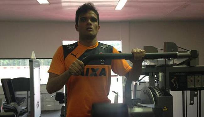 Norberto fez exames no Centro de Treinamento do Rubro-Negro - Foto: Divulgação | E.C. Vitória