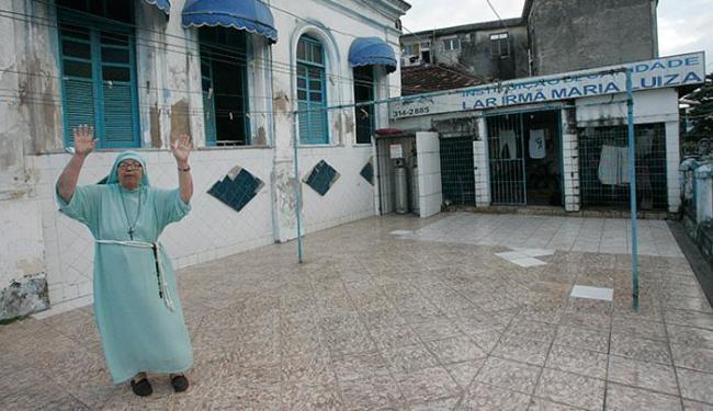 O Lar Irmã Maria Luiza, localizado no bairro do Uruguai, foi notificado há aproximadamente um mês - Foto: Margarida Neide l Ag. A TARDE