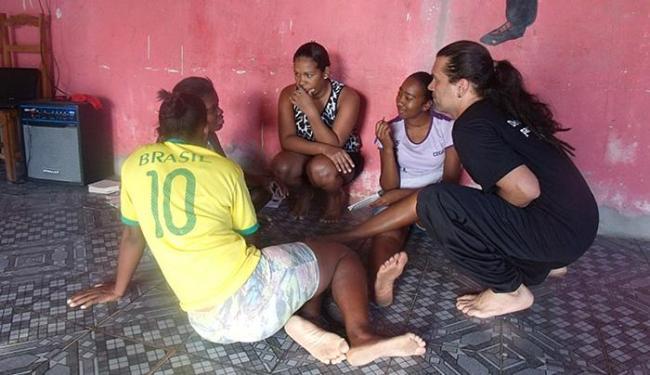 Instrutores usaram o teatro como ferramenta de conscientização - Foto: Dominique Faislon l Divulgação