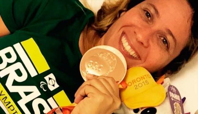 Nadadora comemorou conquista no Facebook - Foto: Reprodução | Facebook
