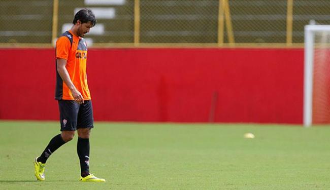 Pedro Ken não treinou e se recupera de entorse no tornozelo - Foto: Joá Souza   Ag. A TARDE