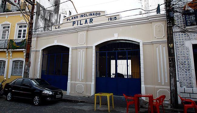 Equipamento de 1897 faz a ligação entre a rua do Pilar e o bairro de Santo Antônio - Foto: Fernando Vivas l Ag. A TARDE l 05.02.2015