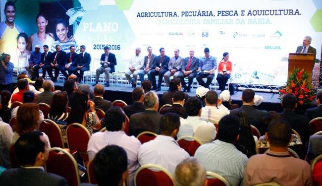 Lançamento do Plano Safra ocorreu em cerimônia no Bahia Othon Palace - Foto: Edilson Lima | Ag. A TARDE