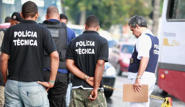 Crime ocorreu na tarde desta segunda-feira, 31 - Foto: Joá Souza | Ag. A TARDE