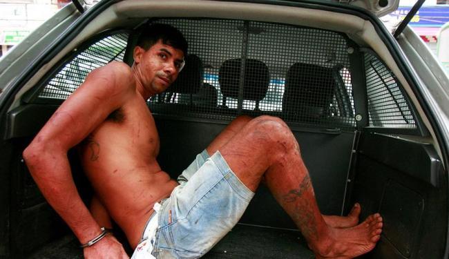 Preso foi recapturado no bairro de Pau da Lima - Foto: Edilson Lima | Ag. A TARDE
