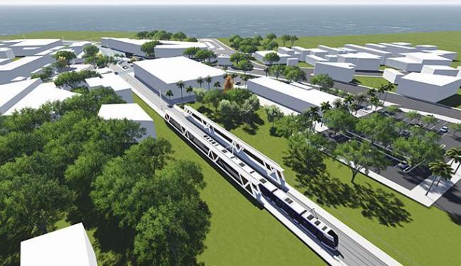 Projeto do VLT da capital: engenheiro fala de velocidade reduzida, gestor discorda - Foto: Casa Civil l Divulgação