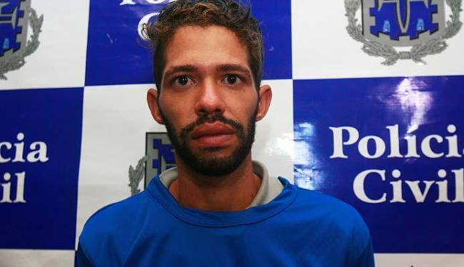 Rafael foi preso após a descoberta do corpo da criança - Foto: Edilson Lima | Ag. A TARDE