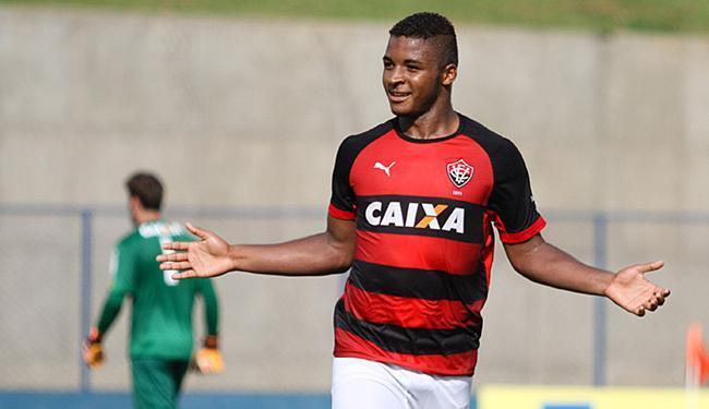 Com quatro gols, Rafaelson é esperança do Rubro-Negro - Foto: Luciano Claudino l Estadão Conteúdo l 14.01.2015