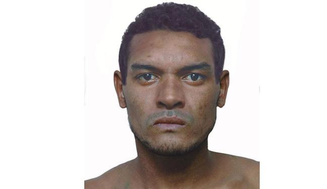 Segundo polícia, suspeito aparenta ter cerca de 30 anos e 1,83 de altura - Foto: Divulgação | Polícia Civil