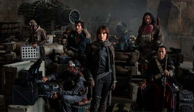 Rogue One vai mostrar grupo que tenta destruir planos da Estrela da Morte - Foto: Divulgação