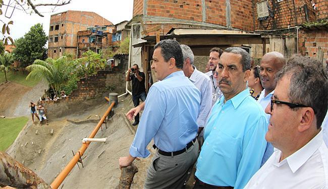Rui Costa participou da solenidade de entrega da obra - Foto: Manu Dias l GOVBA