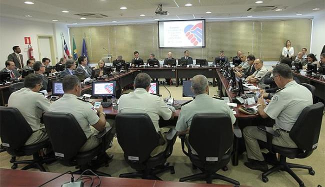Rui Costa se reuniu com o comitê do programa Pacto pela Vida e representantes do interior baiano - Foto: Carol Garcia l Govba l Divulgação