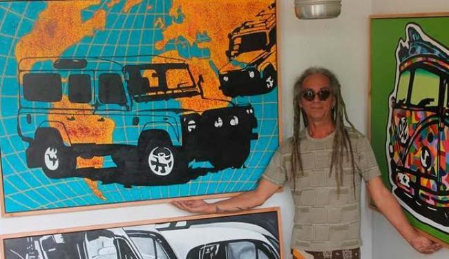 Ruy Santana expõe carros no antigo Ceasa - Foto: Luciana Rocha | Divulgação