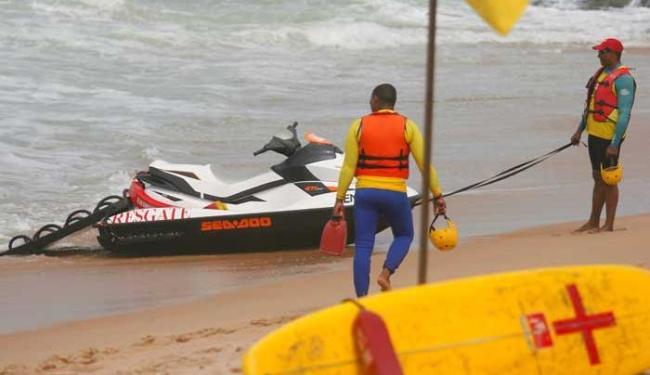 Agentes atuam ao longo dos 28 km de praias da capital - Foto: Joá Souza | Ag. A TARDE