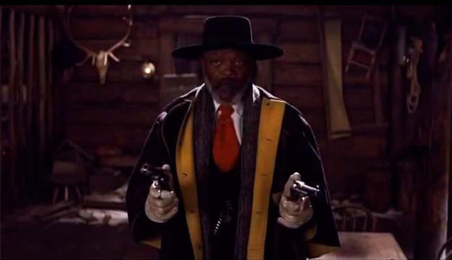 Samuel L. Jackson está no longa de Tarantino - Foto: Divulgação