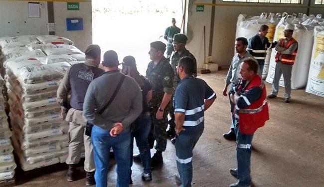 SSP e Exército autuaram 11 empresas em 14 municípios - Foto: SSP-BA l Divulgação