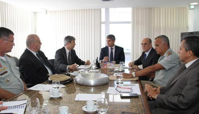Encontro com Barbosa (C) discutiu ações preventivas - Foto: Ascom SSP-BA l Divulgação