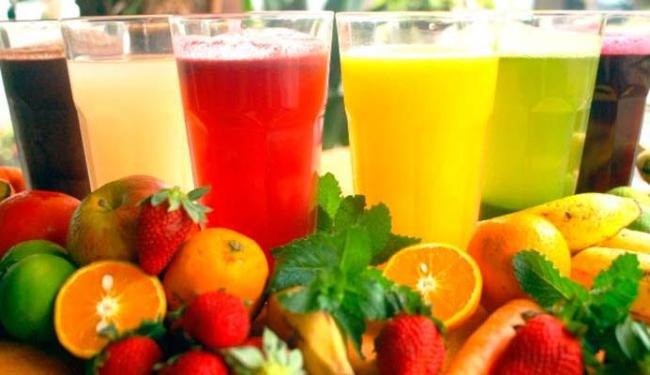 O suco 100% é mais recomendado porque preserva as vitaminas - Foto: Divulgação