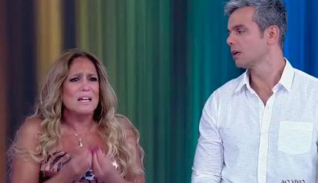 Susana reclamou por não ter sido convidada para falar sobre a estreia de
