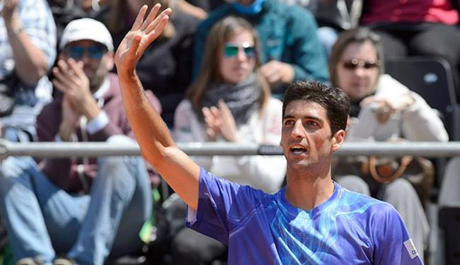 Thomaz Bellucci, tenista número 1 do Brasil - Foto: Martial Trezzini l Keystone via AP